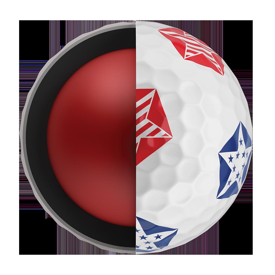 Chrome Soft Truvis Stars and Stripes 18 Golf Balls - View 5
