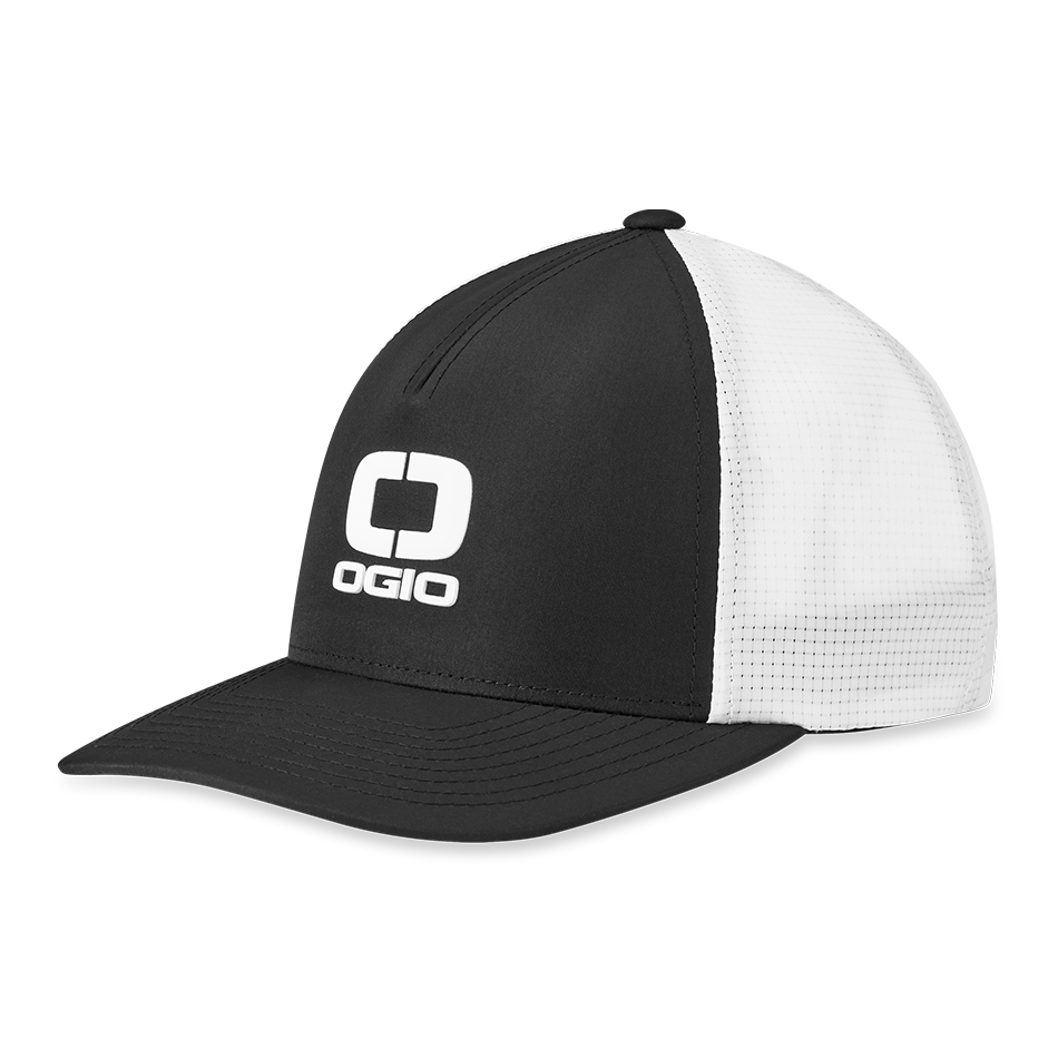 Badge Mesh Hat