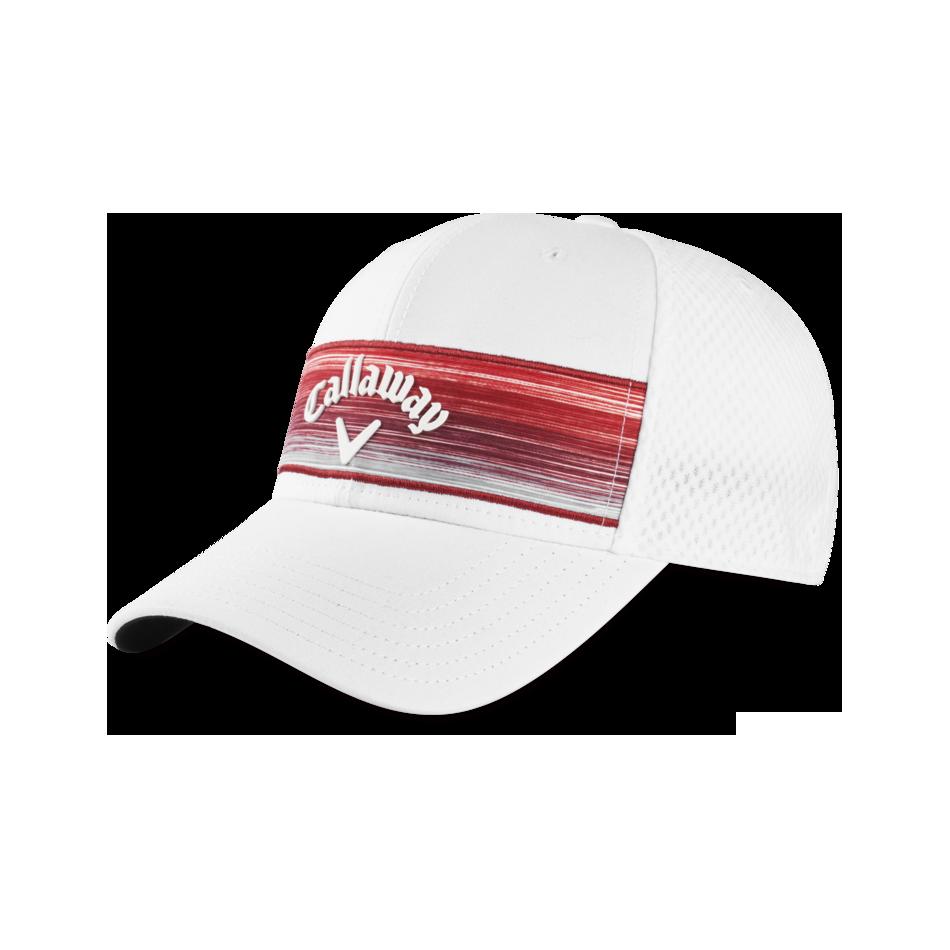 Stripe Mesh Adjustable Cap - Featured