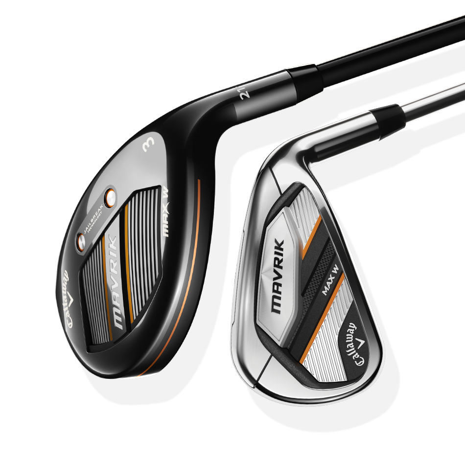 Women's MAVRIK MAX W Irons/Hybrids Set - Featured
