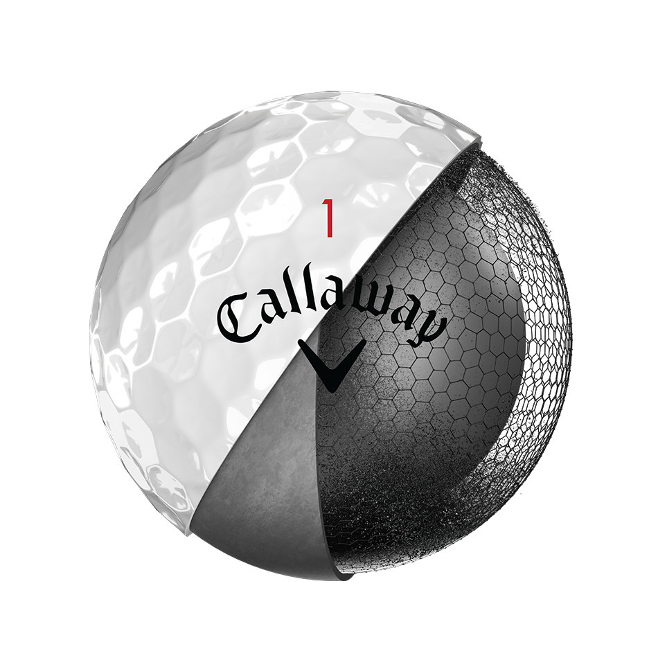 Chrome Soft X 18 Golf Balls - Personalised - View 3