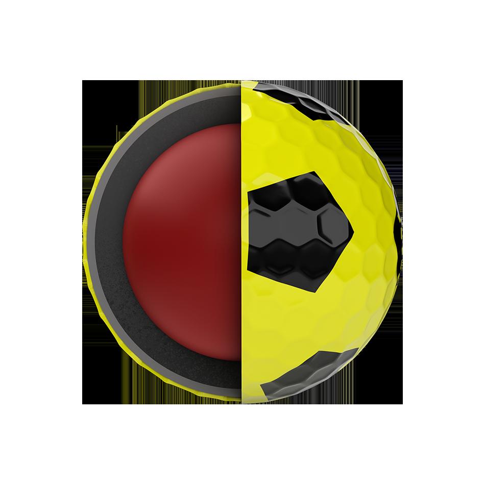 Chrome Soft Truvis Yellow Golf Balls - View 5