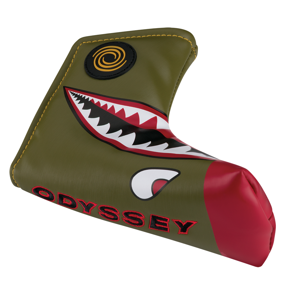 Odyssey Fighter Plane Blade Headcover - Featured