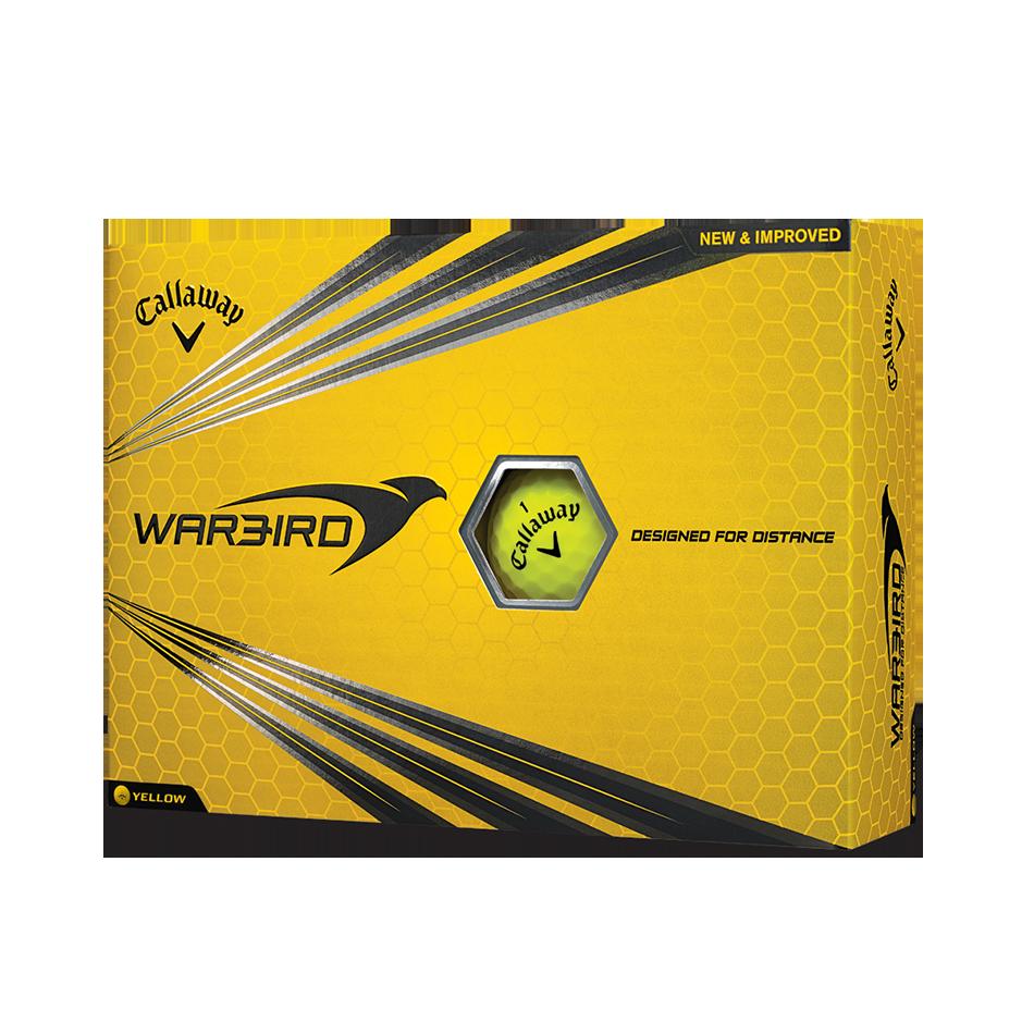 Warbird Yellow Golf Balls - Personalised