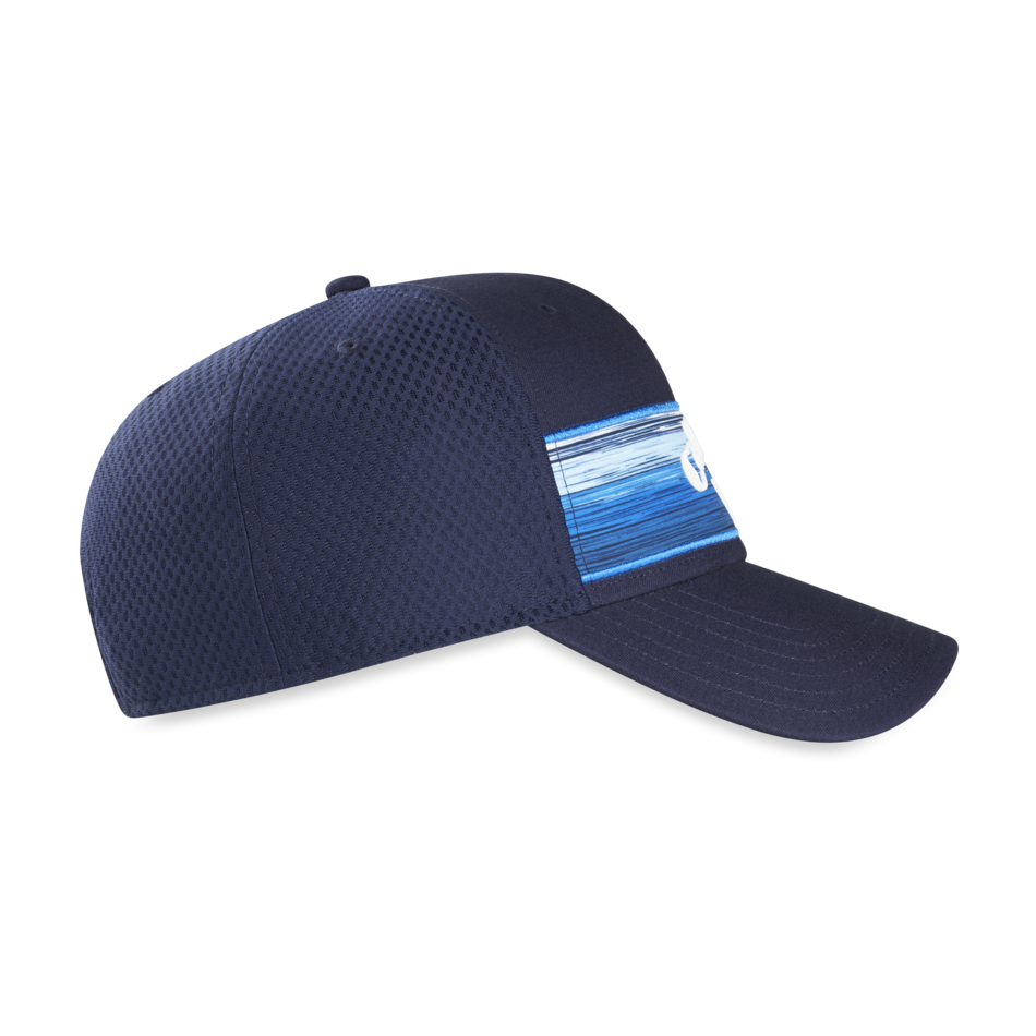 Stripe Mesh Adjustable Cap - View 4