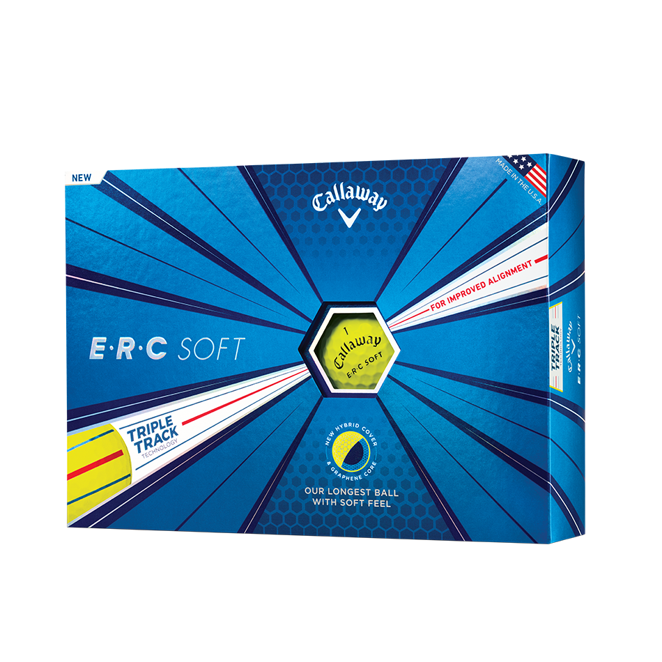 ERC Soft Yellow Golf Balls - Featured
