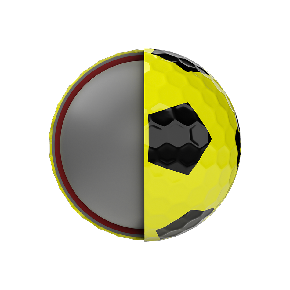 Chrome Soft X Truvis Yellow Golf Balls - View 5