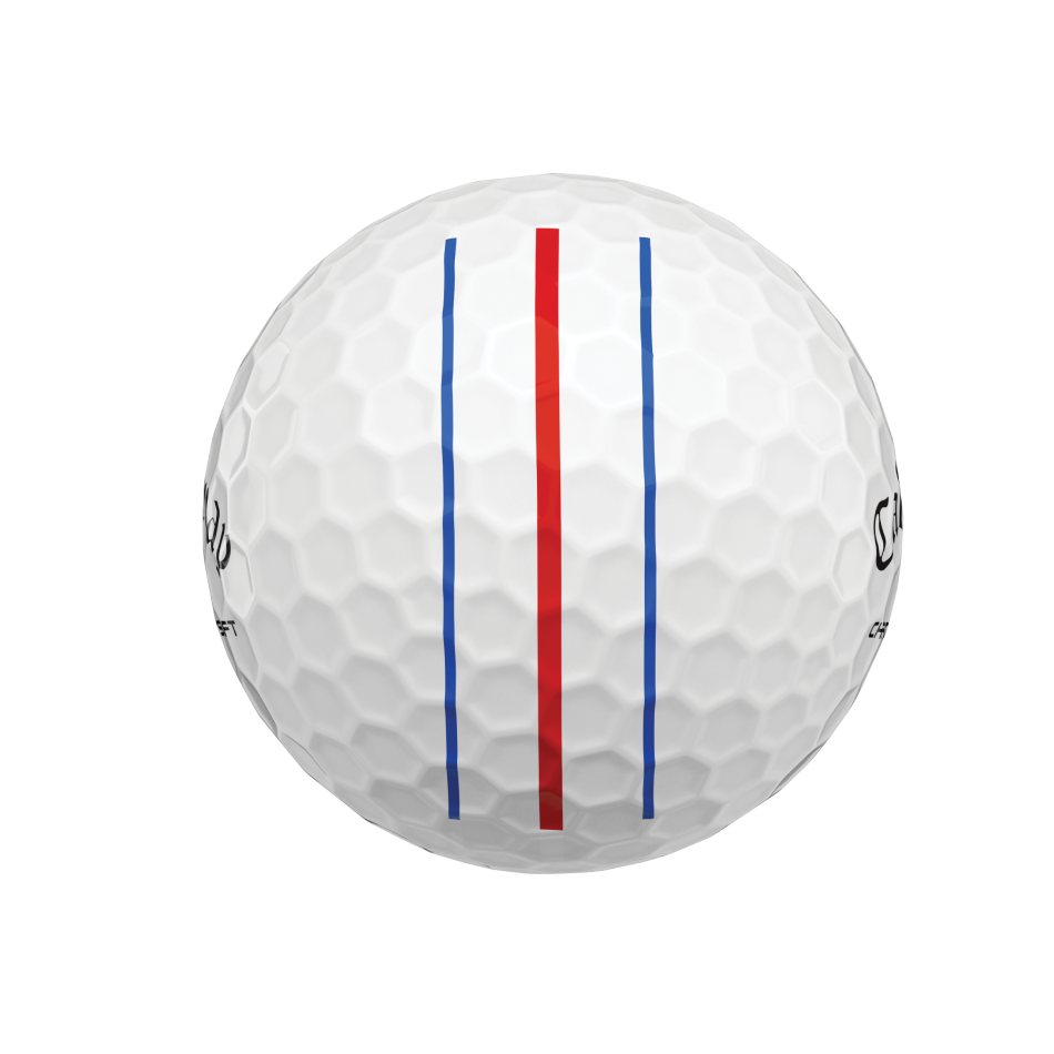 Chrome Soft Triple Track Golf Balls - View 5
