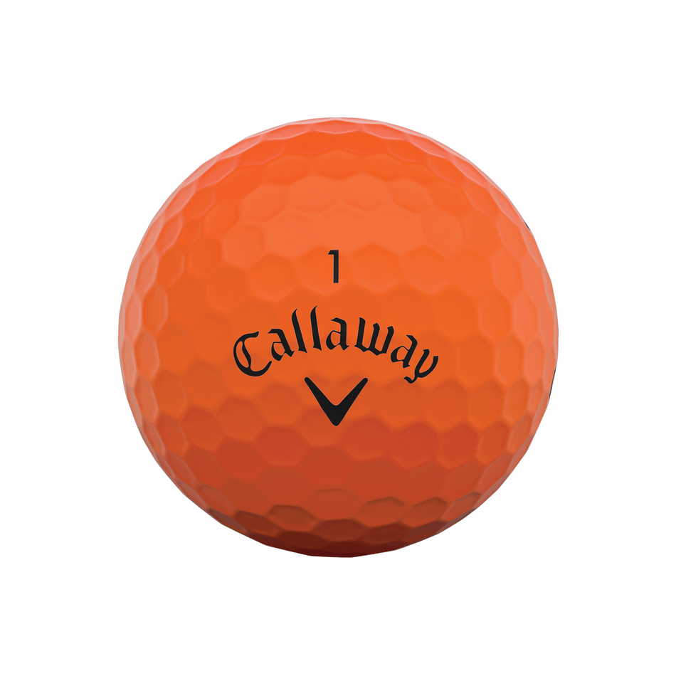 Callaway Supersoft Matte Orange Golf Balls - View 3