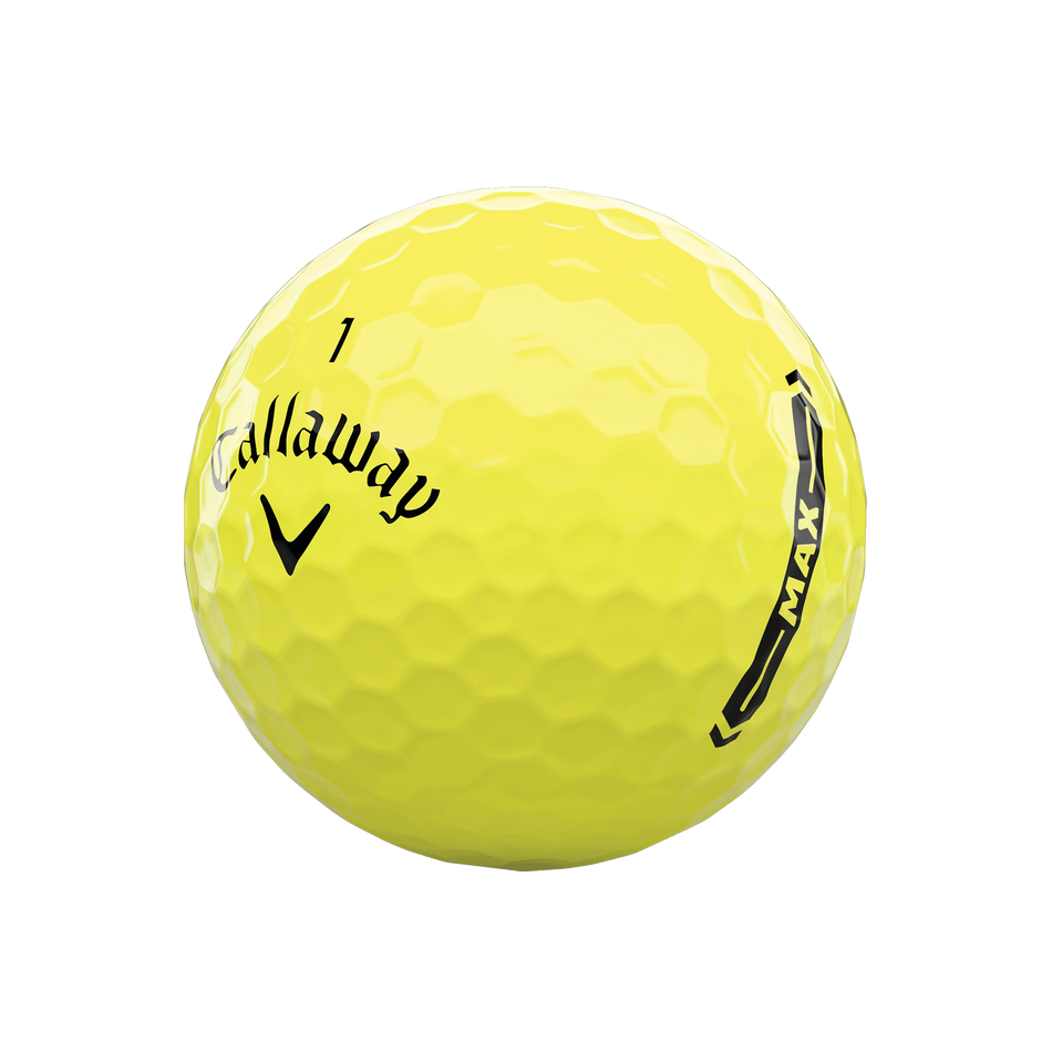 Callaway Supersoft MAX Yellow Golf Balls - View 4