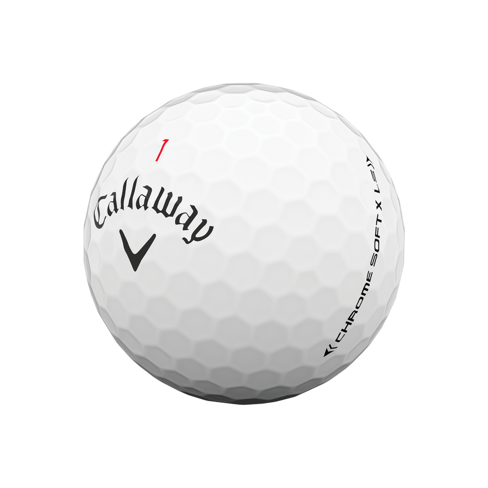 Chrome Soft X LS Golf Balls - View 4
