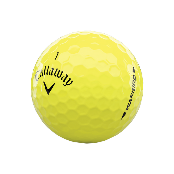 Warbird Yellow Golf Balls - View 4