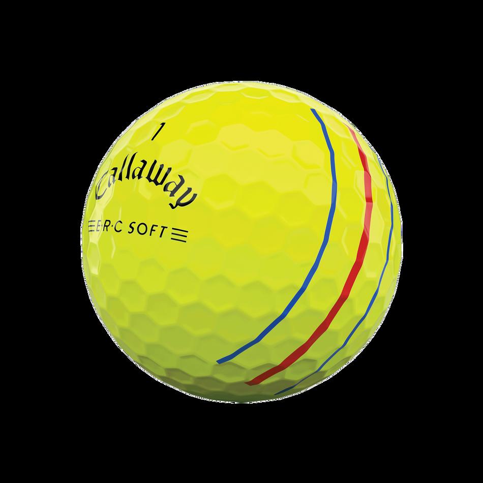 E•R•C Soft Yellow Golf Balls - View 4
