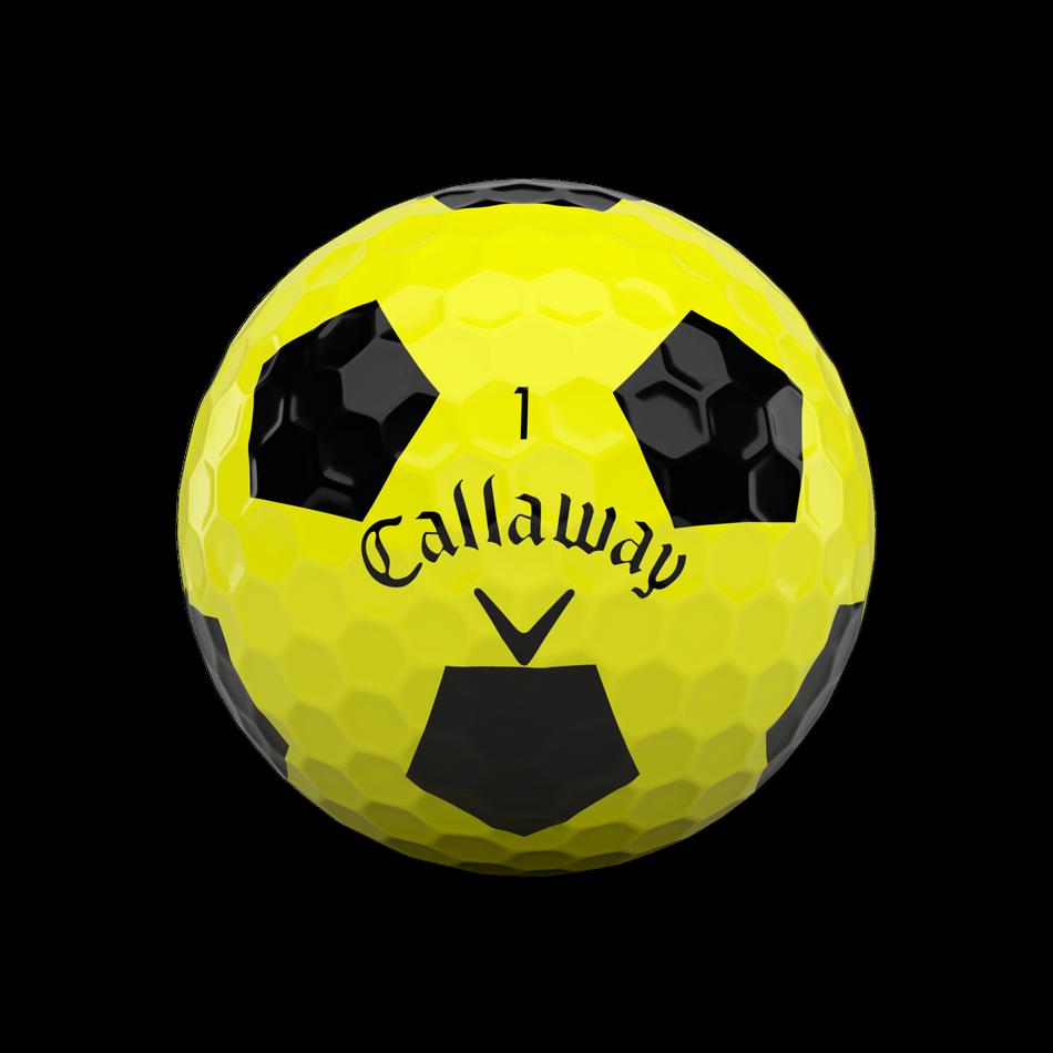 Chrome Soft X Truvis Yellow Golf Balls - View 3