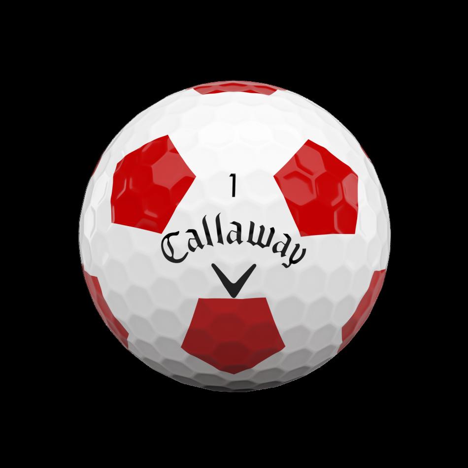 Chrome Soft Truvis Red Golf Balls - View 3