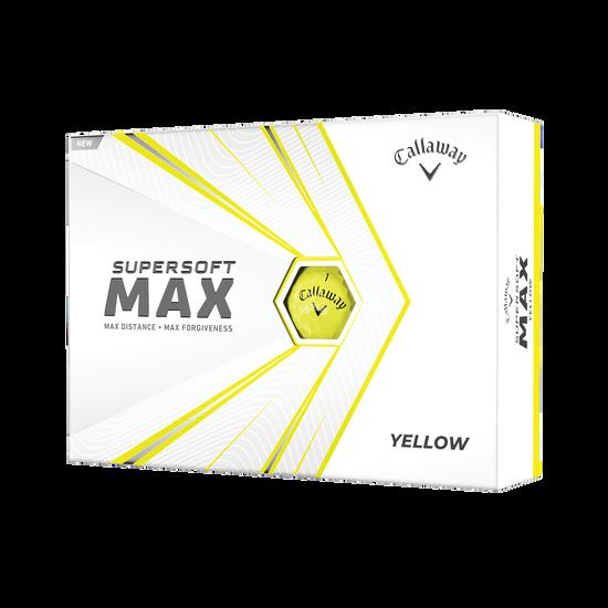 Callaway Supersoft MAX Yellow Golf Balls