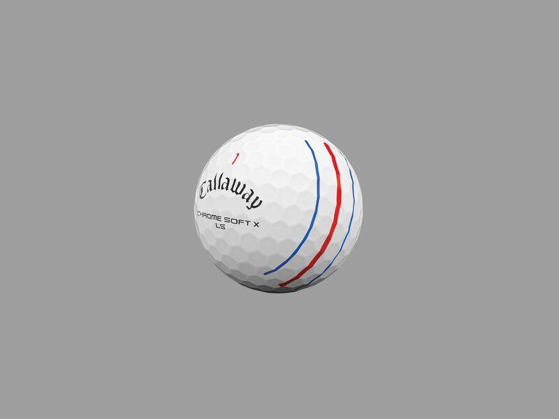 Chrome Soft X LS Triple Track Golf Balls - Featured