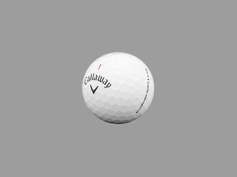 Chrome Soft X LS Golf Balls - Featured