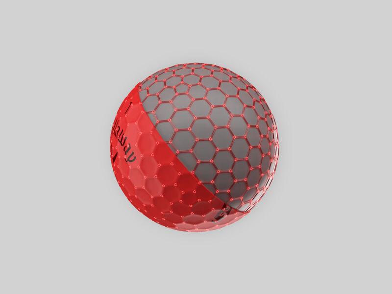 Callaway Supersoft Matte Red Golf Balls - Featured
