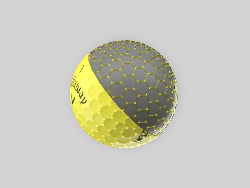 Callaway Supersoft Yellow Golf Balls - Featured