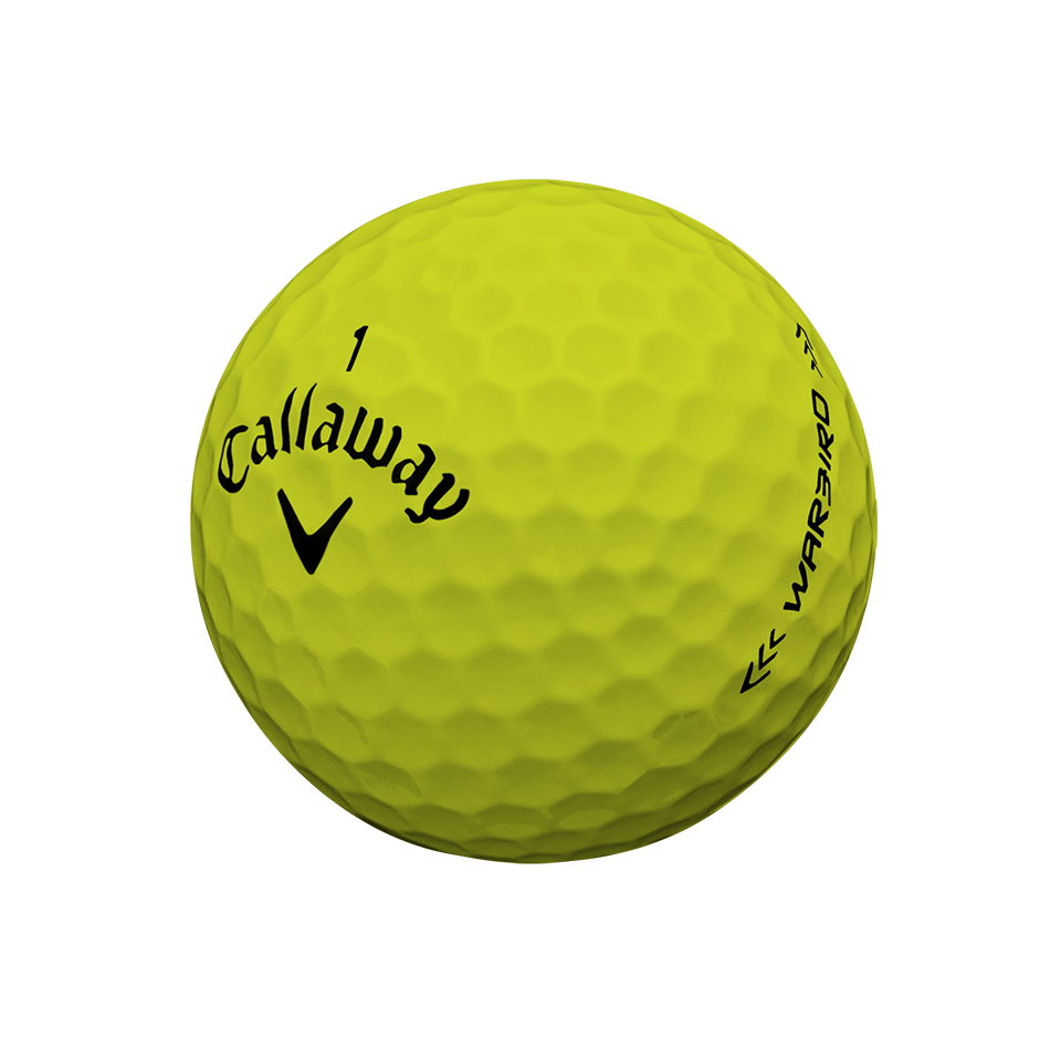 Warbird Yellow Golf Balls - Personalised - View 3