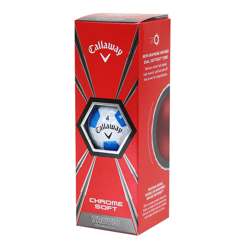 Chrome Soft Sweden Truvis Golf Balls - View 2