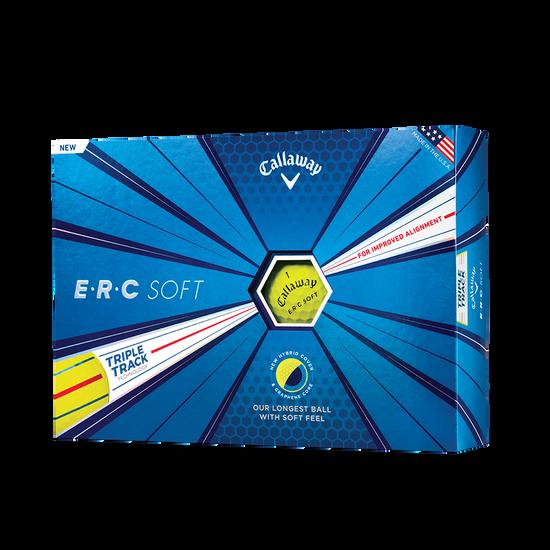 ERC Soft Yellow Golf Balls