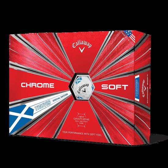 Chrome Soft Scotland Truvis Golf Balls