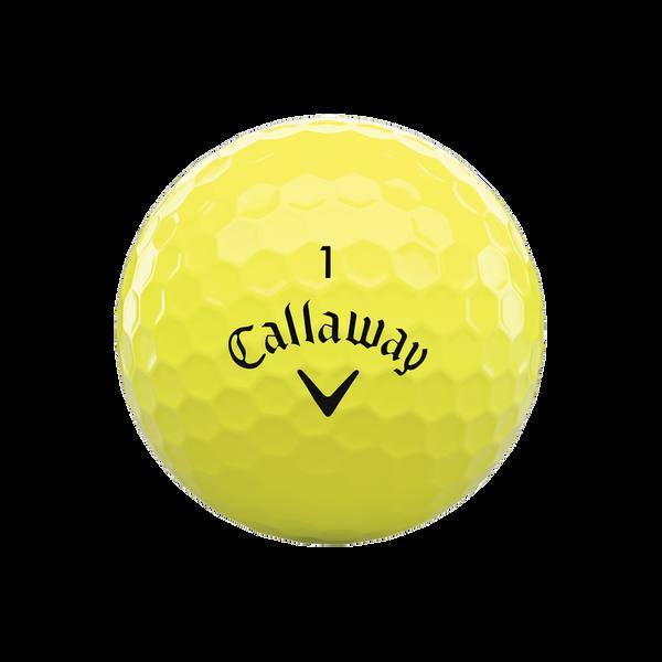 Warbird Yellow Golf Balls - View 3