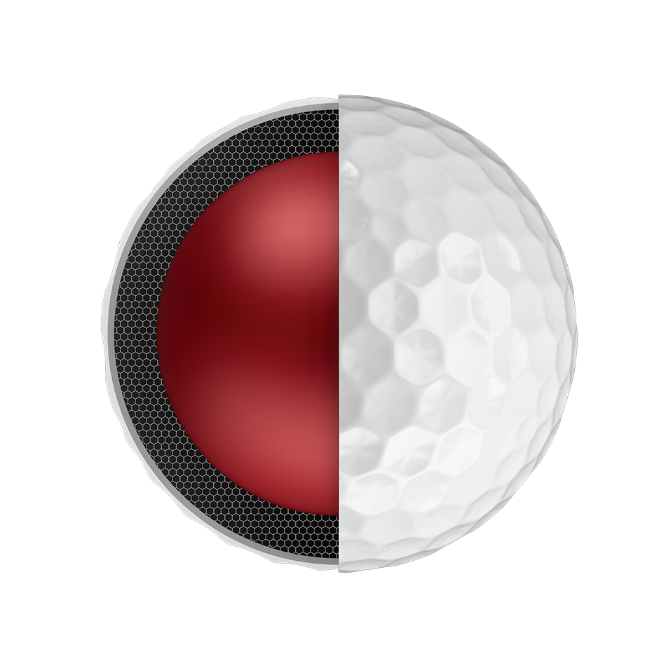 La nouvelle balle de golf Chrome Soft 18 - Personnalisées - View 4