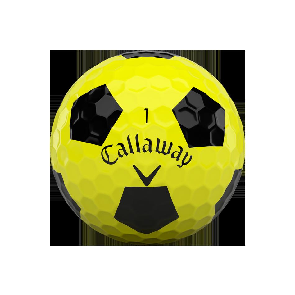 Balles de golf Chrome Soft X Truvis Yellow - View 3