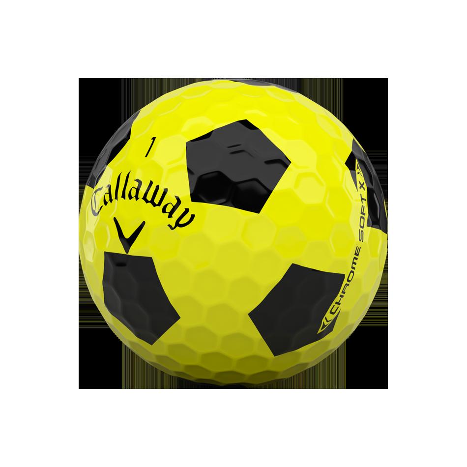 Balles de golf Chrome Soft X Truvis Yellow - View 4