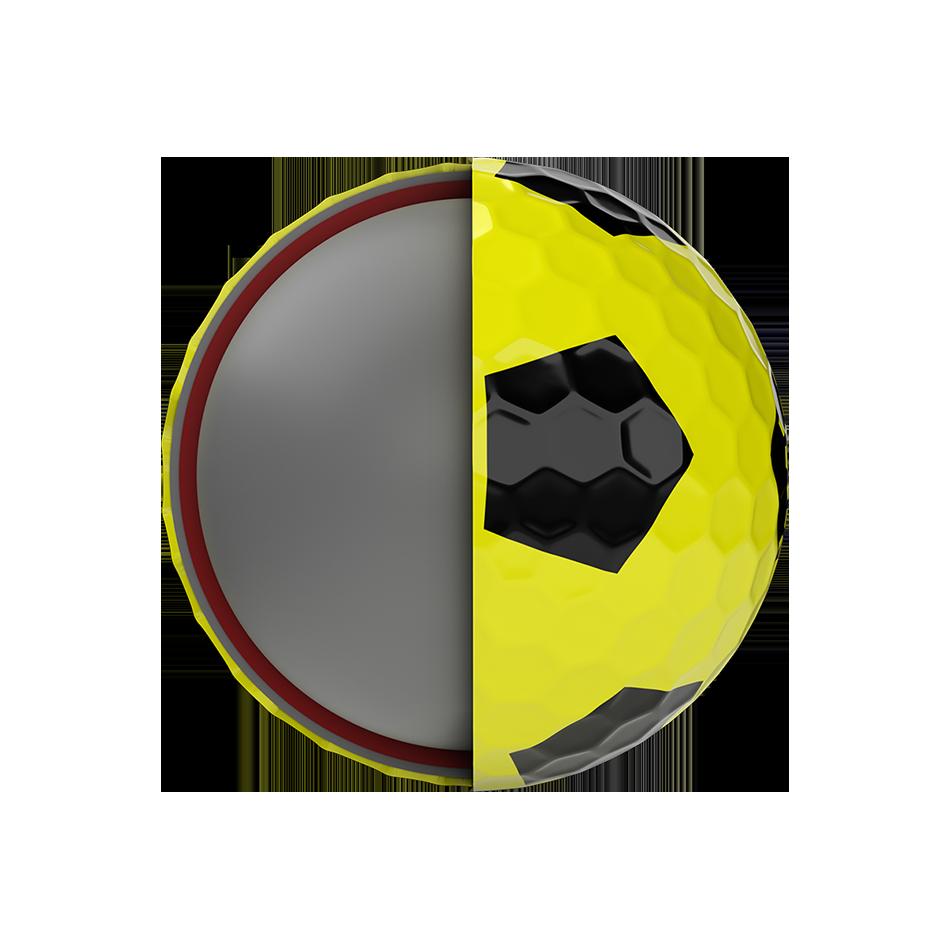 Balles de golf Chrome Soft X Truvis Yellow - View 5