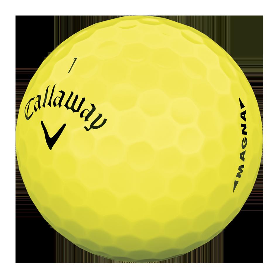 Callaway Supersoft Magna Yellow Golf Balls - Personnalisées - View 3
