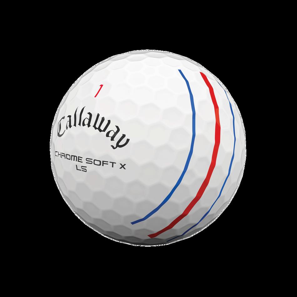 Balle de Golf Chrome Soft X LS Triple Track - View 4