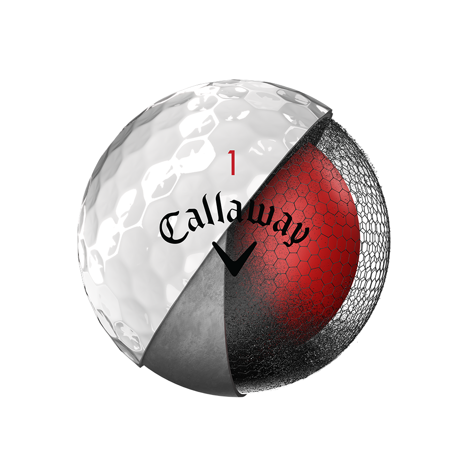 La nouvelle balle de golf Chrome Soft - View 3