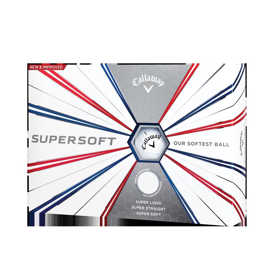 Callaway Supersoft Golf Balls - Personnalisées - View 1