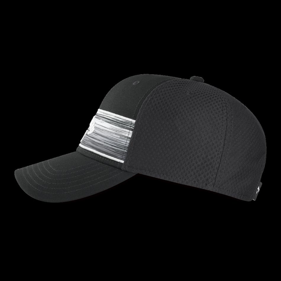 Stripe Mesh Adjustable Cap - View 5