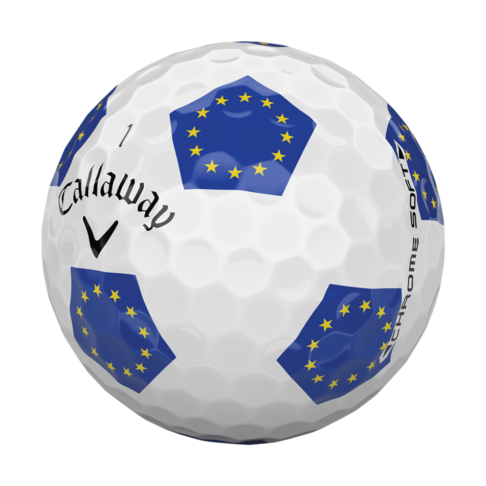 Chrome Soft European Truvis Golf Balls - View 3