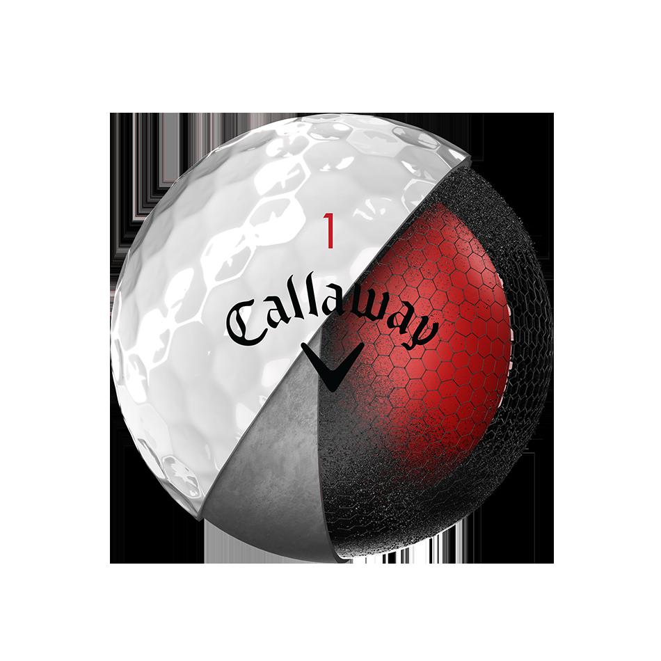 La nouvelle balle de golf Chrome Soft - Personnalisées - View 3