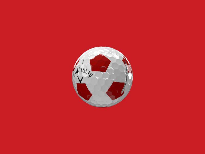 Balles de golf Chrome Soft Truvis Red 2020 - Featured
