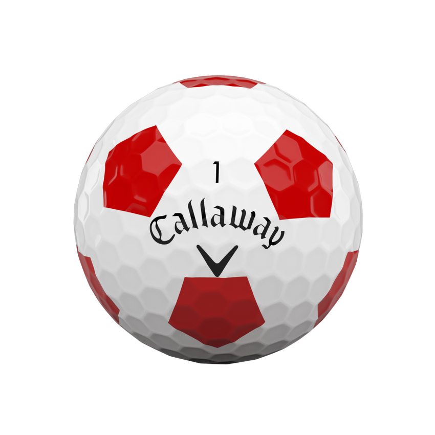 Balles de golf Chrome Soft Truvis Red 2020 - View 3