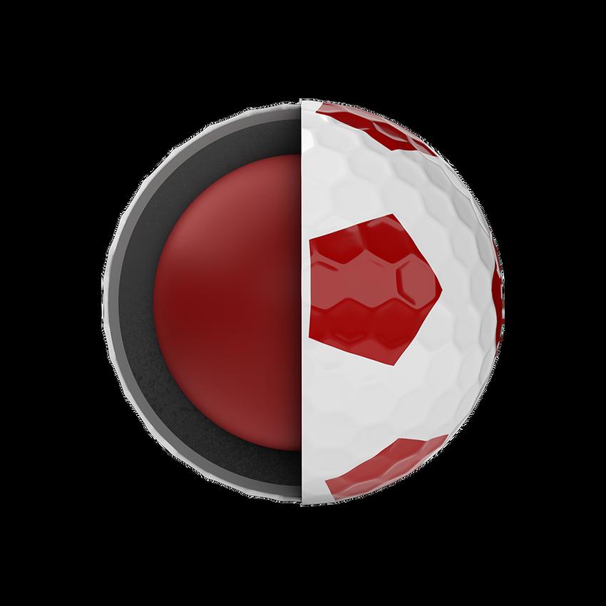 Balles de golf Chrome Soft Truvis Red 2020 - View 5