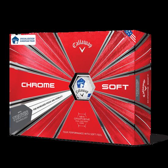 Chrome Soft Euro Tour Truvis Golf Balls