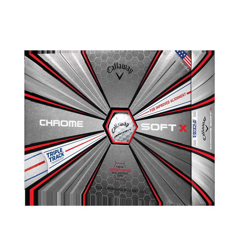 Chrome Soft X Triple Track - Featured