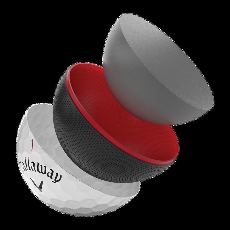 Einführung des 2020 Chrome Soft X Golfballs illustration