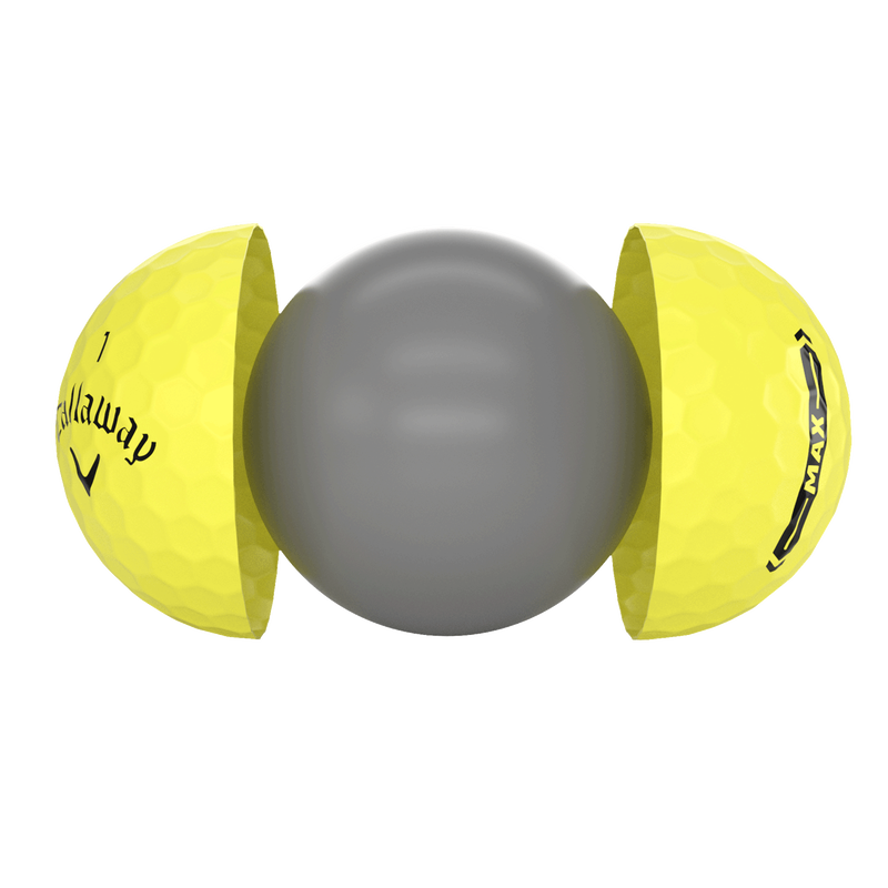 Supersoft MAX Yellow Golf Ball