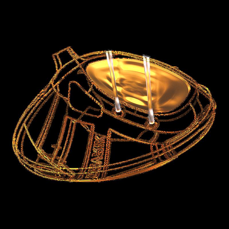 Jailbreak + couronne en carbone triaxial T2C illustration