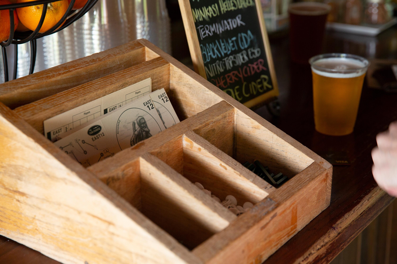 distillery pub, pre/mid/post round hangout