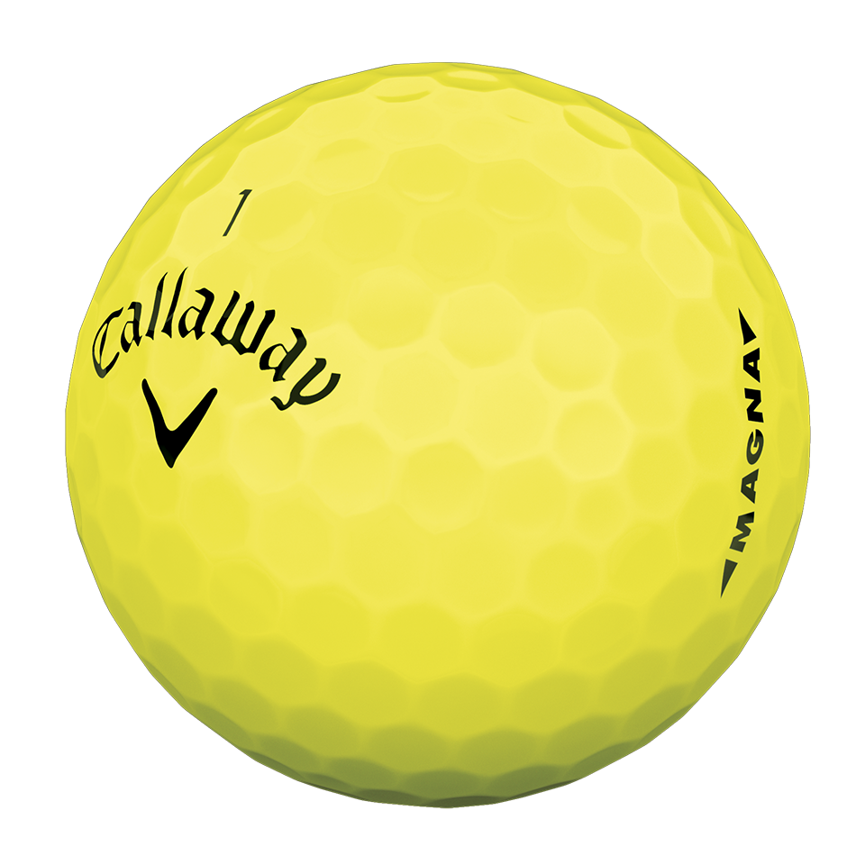 PRÄSENTIERT CALLAWAY SUPERSOFT MAGNA YELLOW illustration